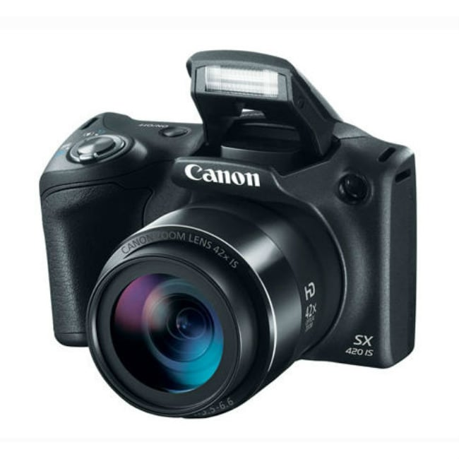 Camara Digital CANON PowerShot SX420 20 Megapixeles Color Negro