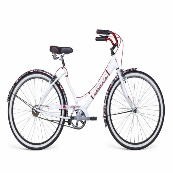 Bicicleta vintage Regina R26  Blanco Nacarado