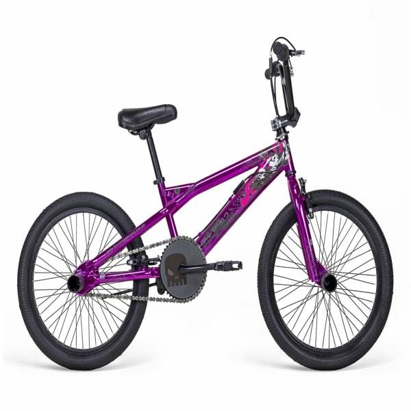 Bicicleta Mercurio, freestyle, bicicleta de estilo libre, salto, BMX, modelo Superbroncco, Rodada 20,  1velocidad,  color Rosa, linea 2018