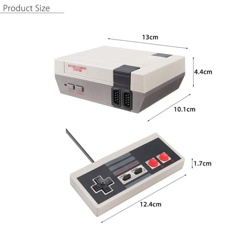 Consola Retro Clásica + 2 Controles con 620 Juegos Precargados