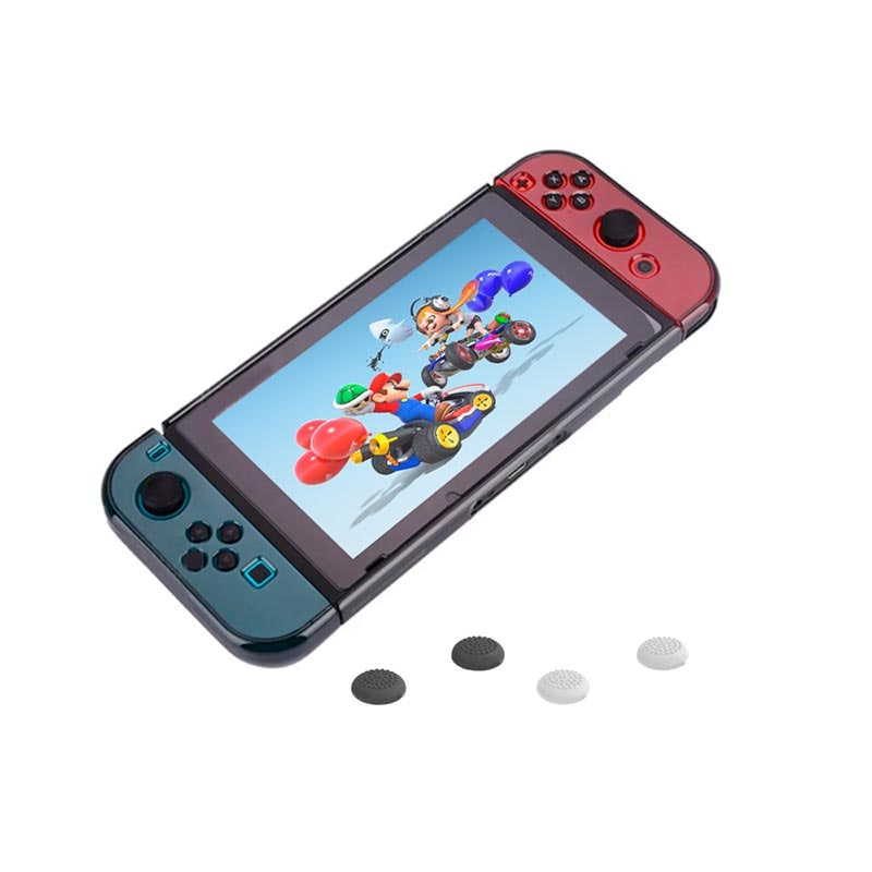 Redlemon Funda Protector para Nintendo Switch y Joy-Con, de Policarbonato Color Humo