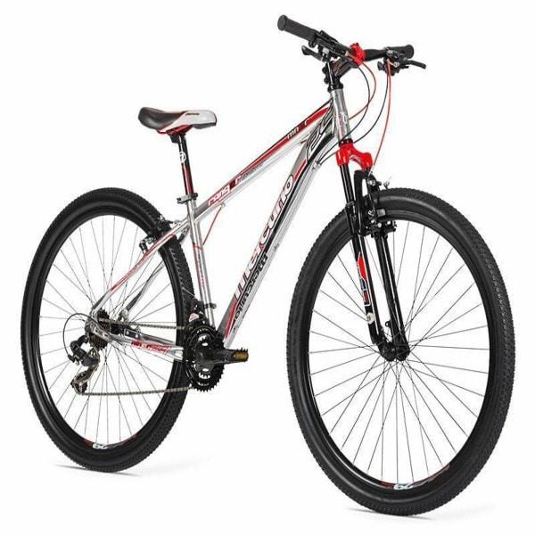 Oferta Limitada Bicicleta Mercurio Aluminio Ranger R29 Cromo Rojo