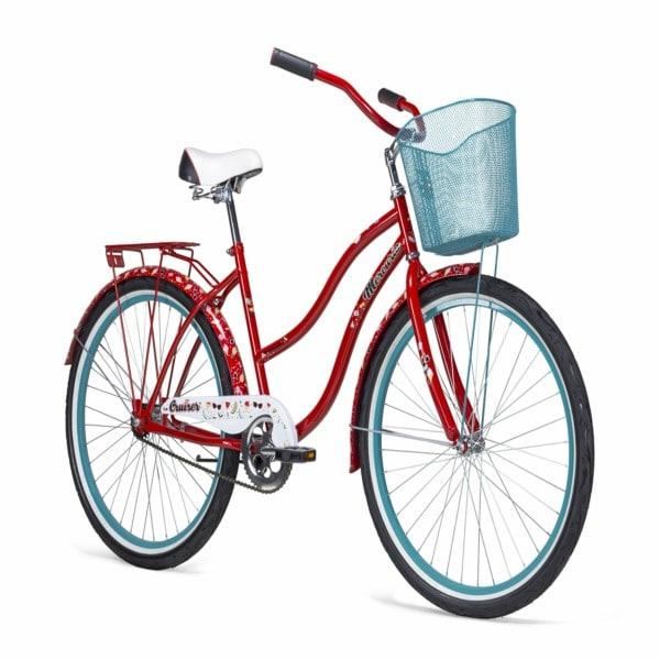 Bicicleta Vintage CRUISER Dim R26 Rojo/Azul