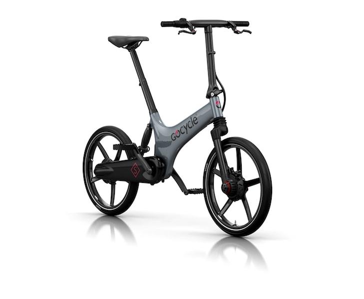 Bicicleta eléctrica Gocycle GS Gris / Negro