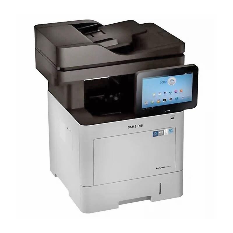 HP Samsung SL-M4580FX multifuncional laser B&N, doble escaner cristal oficio 45ppm apps