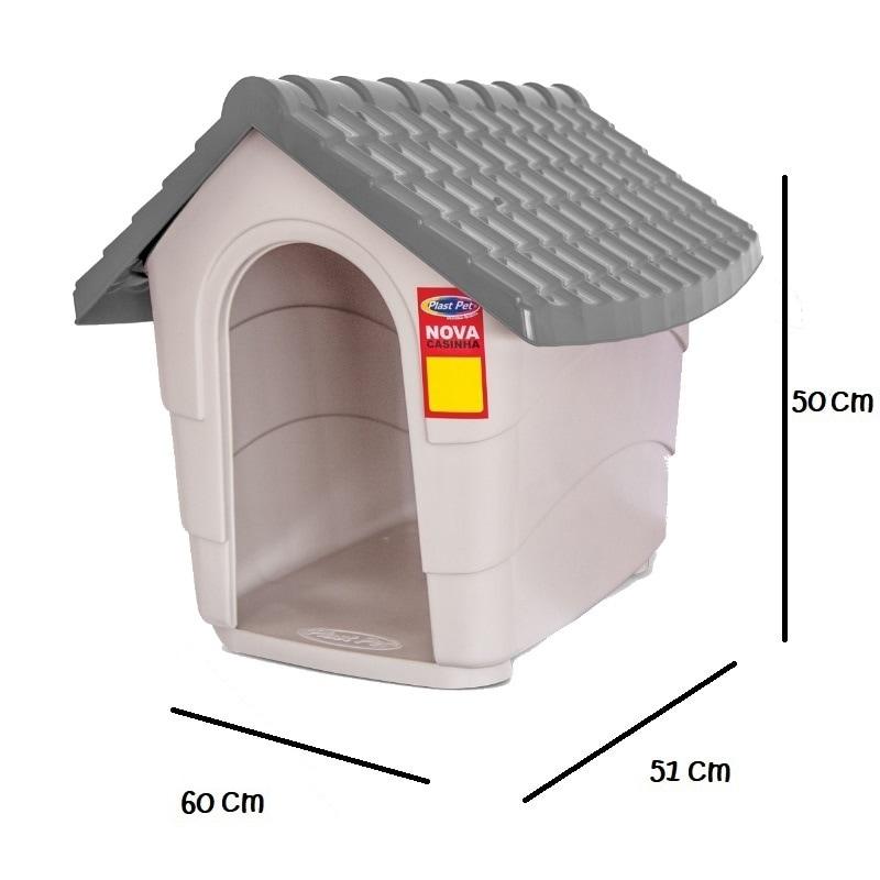 NEW HOUSE NO. 2 CASA PARA PERRO GRIS