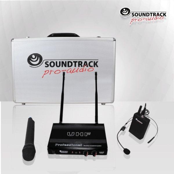 Microfono inalambrico diadema mano solapa STW28HUL Soundtrack