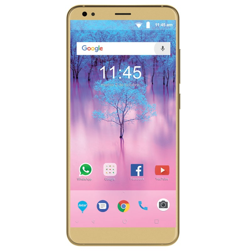 Celular ZTE LTE BLADE V9 16GB DORADO TELCEL