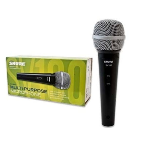 Microfono de mano alambrico SV100 Shure