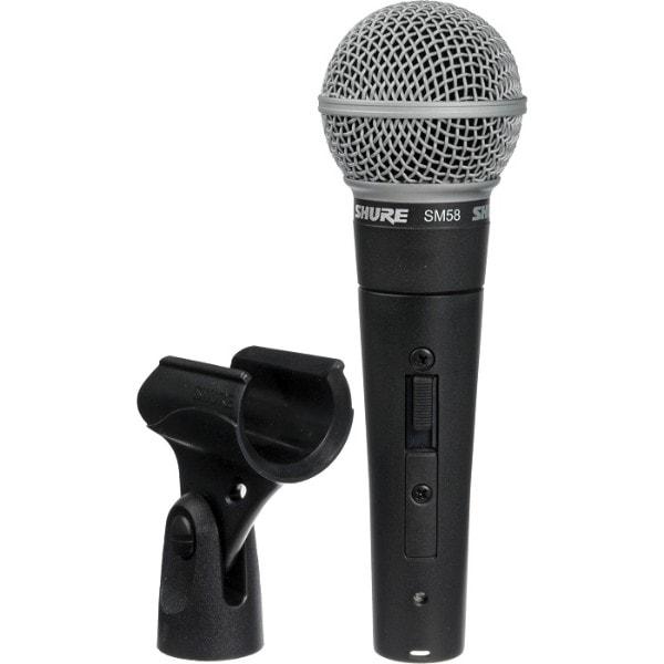 Microfono mano alambrico vocal SM58S Shure