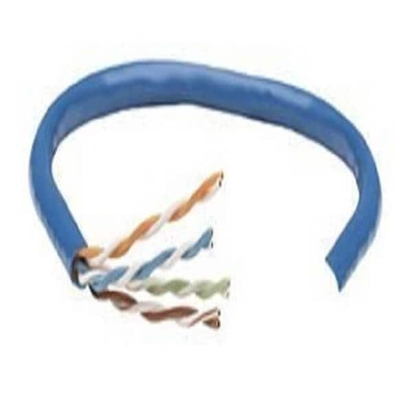 Cable Bobina Intellinet Cat 5e UTP 305 Metro Color Azul 362344