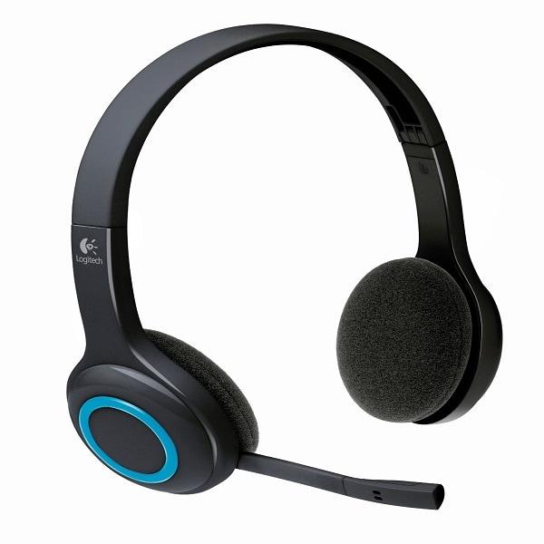 Diadema Logitech H600 USB Wireless Bateria Recargable 981-000386