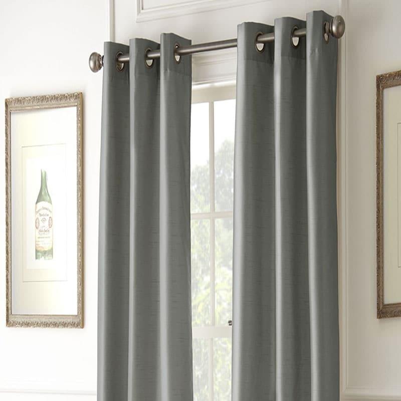 Cortinas blackout color gris oxford Home Essentials