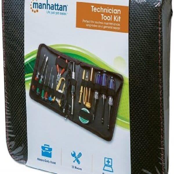 Kit De Herramientas Manhattan 17 Piezas Mantenimiento 530071