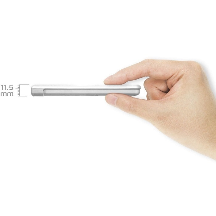 Disco Duro Externo Adata HV620S 2 TB USB 3.0 Blanco AHV620S-2TU31-CWH
