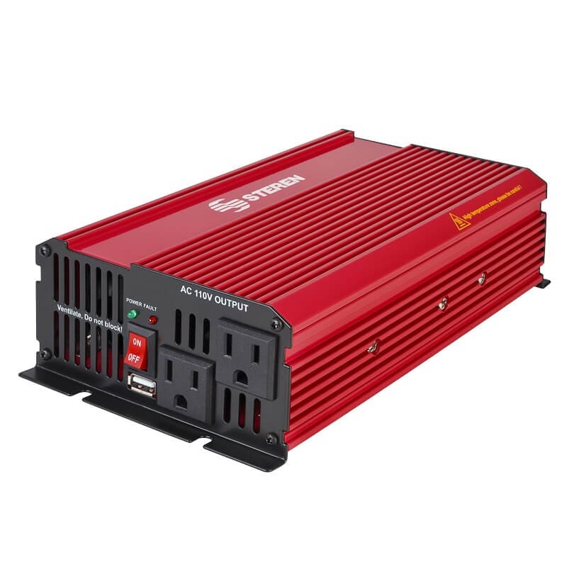 Inversor de corriente automotriz de 1500 W (12 Vcc a 110 Vca)