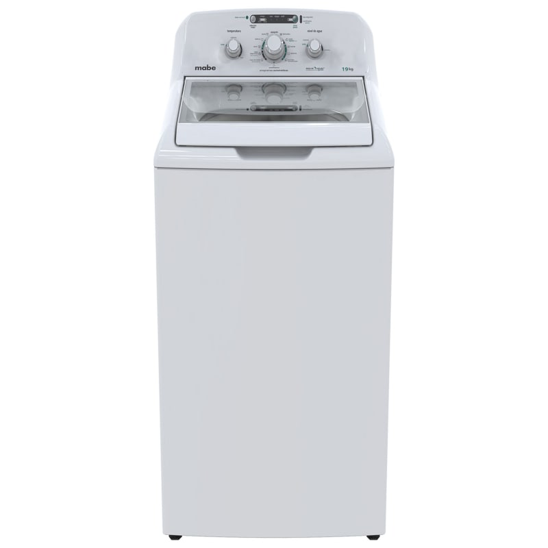 Lavadora Mabe LMA79113VBAB0 Automática 19 Kg Blanca