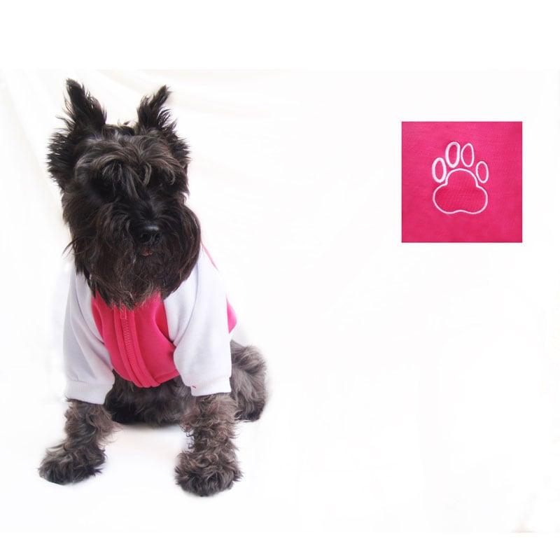 Chamarra Universitaria Rosa Pet Pals Boutique