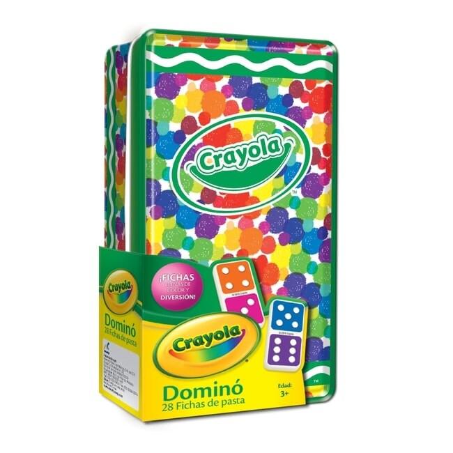 Domino Crayola 28 Fichas; Caja Metalica