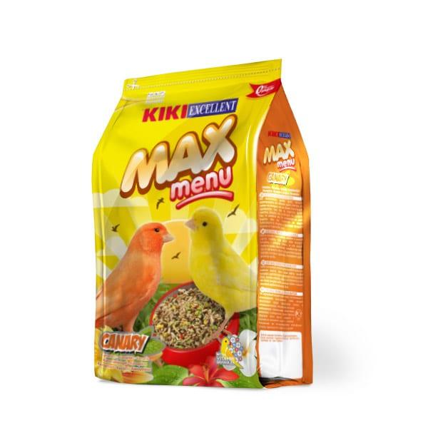 KIKI MAX MENU CANARIOS 500 GMS.