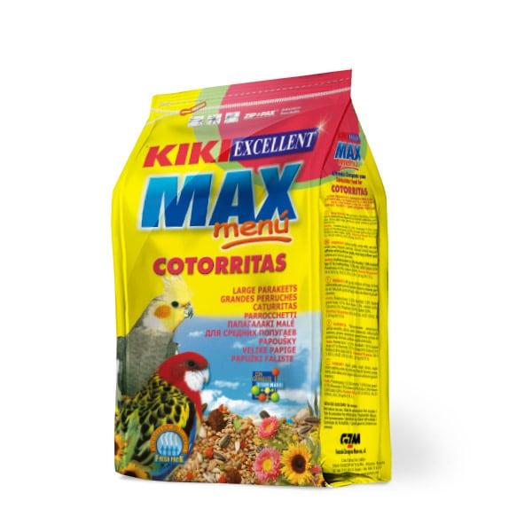 KIKI MAX MENU COTORRITAS 1 KG.