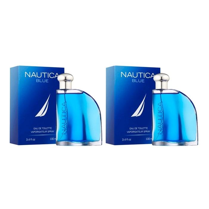 Paquete 2X1 Nautica Blue Para Hombre de Nautica edt 100 ml