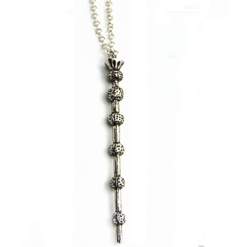 Harry Potter Collar Dije Varita Mágica De Sauco  BYTESHOP