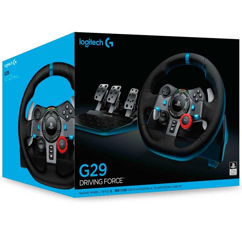 Volante LOGITECH G29 PS4 Driving Force PC PS3 941-000111