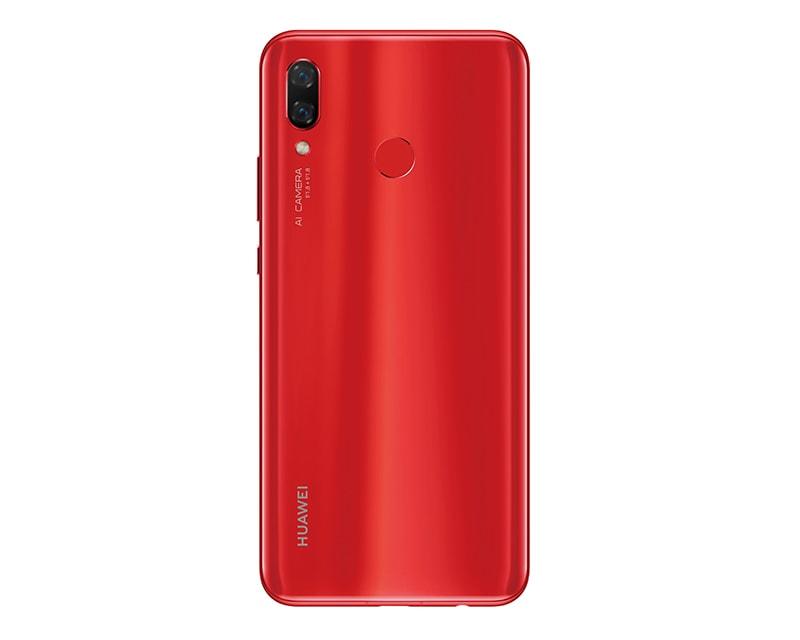 Celular HUAWEI LTE PAR-LX9 NOVA 3 Color ROJO Telcel y llévate de regalo el HUAWEI LTE DRA-LX3 Y5 2018