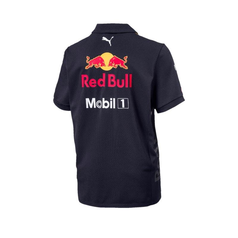 Playera polo ni?o Original Team Red Bull Racing Colecci?n 2018
