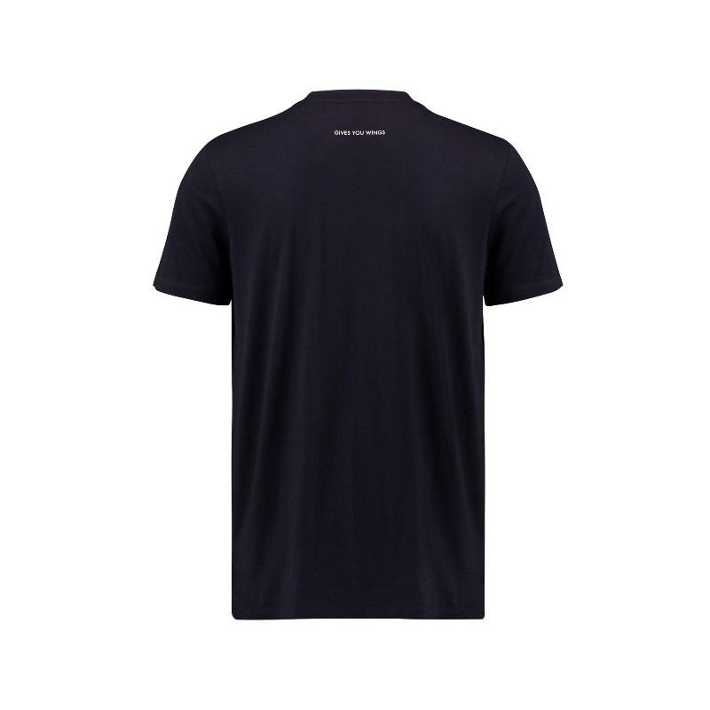 T Shirt Hombre con Logo equipo Red Bull Racing Colección 2018