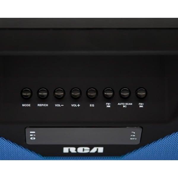 Bocina portatil Rca SP303BTBL Bluetooth Azul