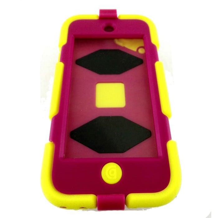 Funda Griffin Survivor All-Terrain for iPod Touch 5 in verde/rosa