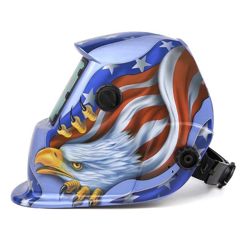 Careta Soldar Electrica Fotosensible Auto Oscurecimiento Aguila Herramienta