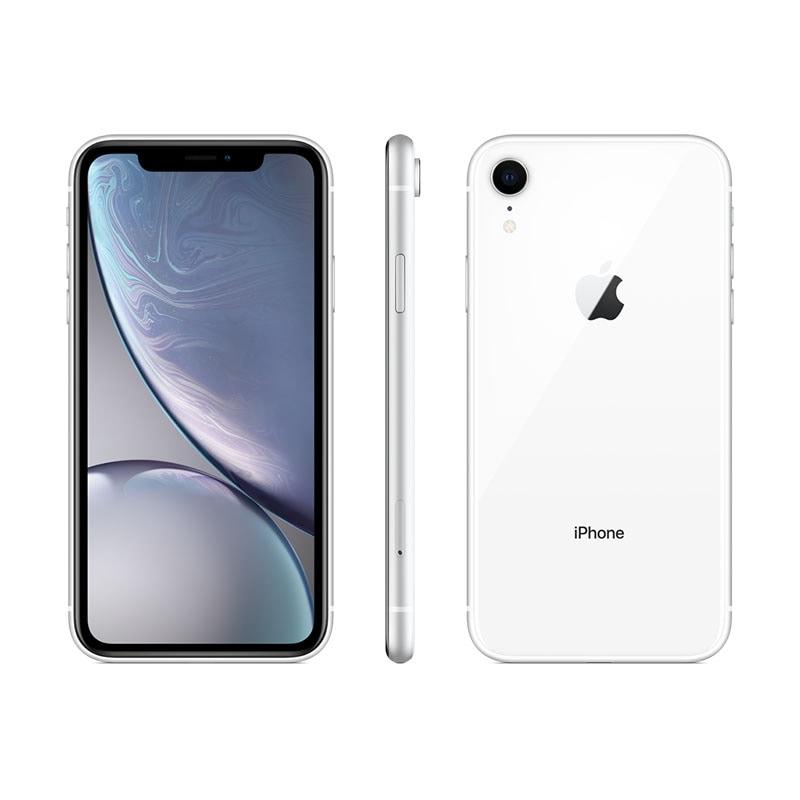Celular apple iphone xr 128gb color blanco Telcel