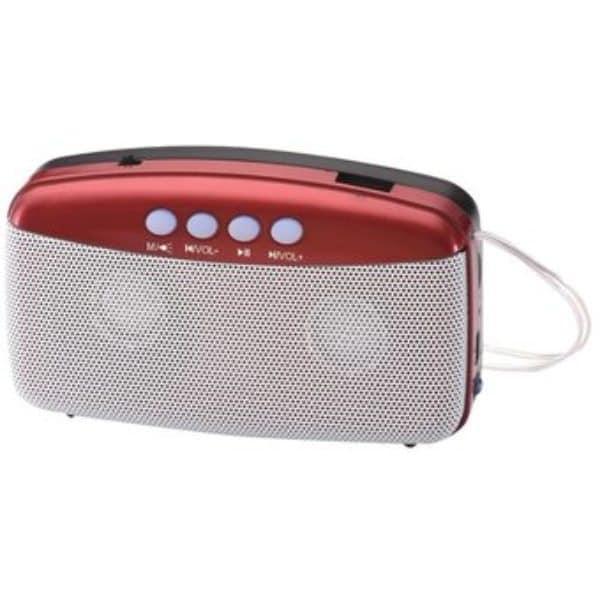 Mini Bocina Bluetooth, Usb, Fm, Micro Sd Plus Power Pp-rbt1