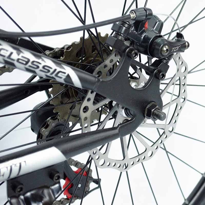 Bicicleta Montaña Plegable Rodada 26 - 21 Velocidades Centurfit Rojo
