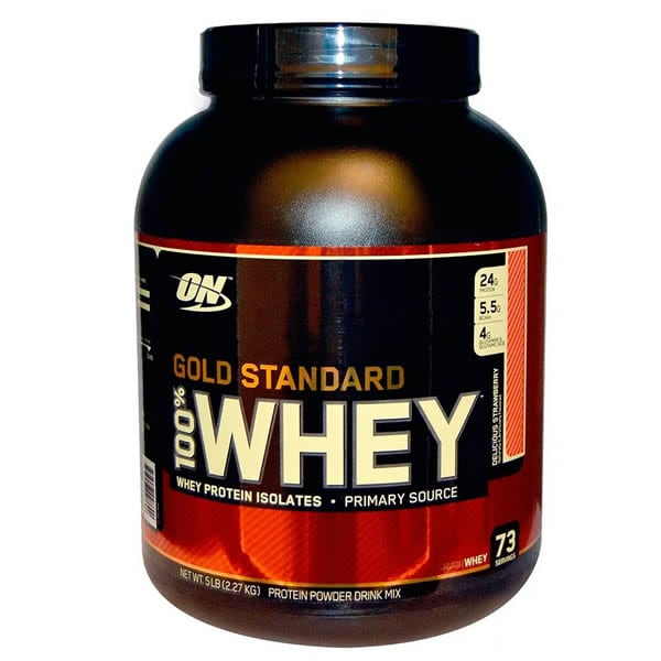 Proteina Optimum Nutrition Whey Gold Standard 73 Servicios - Vainilla