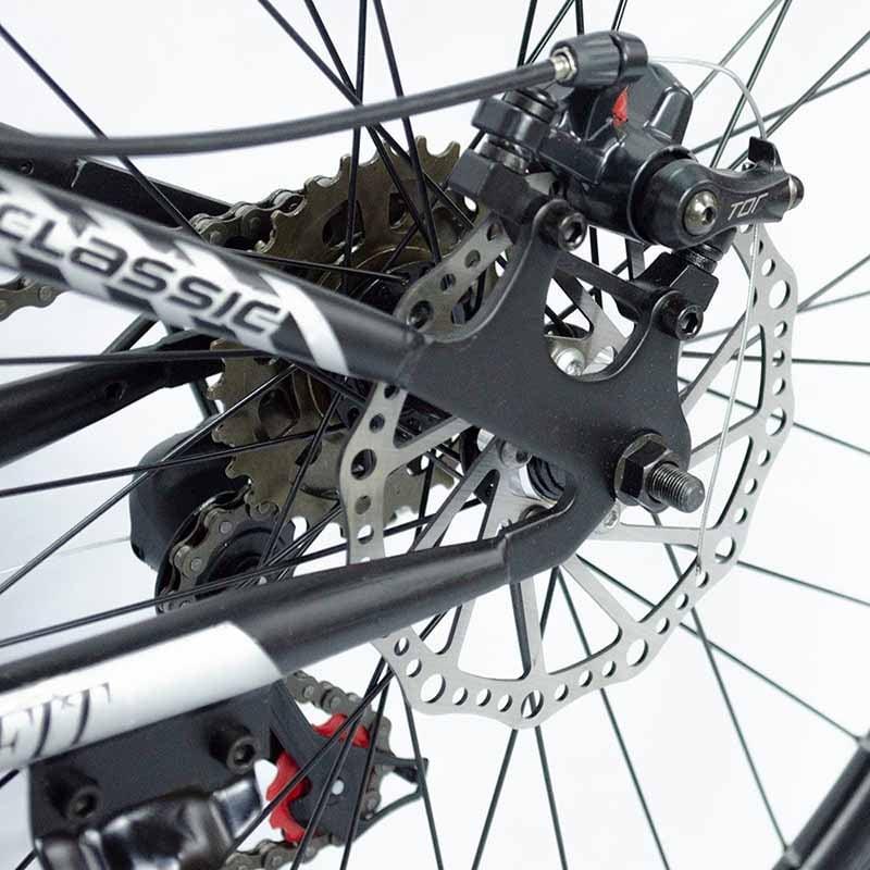 Bicicleta Plegable Rodada 26 Freno Disco 21 Velocidades Centurfit Rojo Montaña