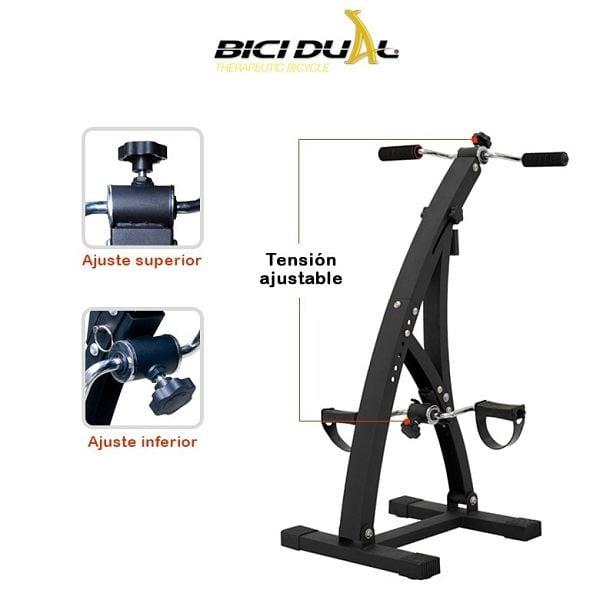 Ejercitador Piernas Brazos Bici Dual Cicle + Cojín D Gel