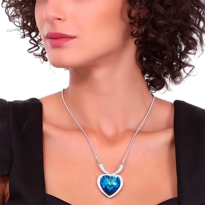 Collar Listen to your Heart, Ocean Heart