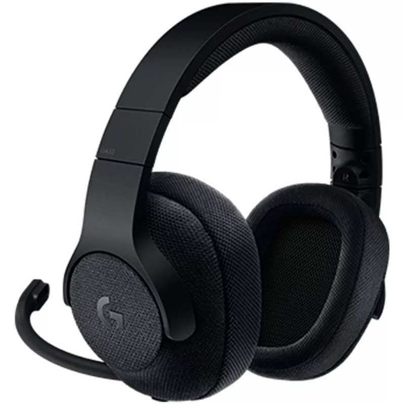 Diadema Gamer Logitech G433 Negro Gaming Usb 7.1 Xbox Ps4 Pc 981-000667