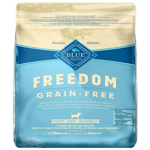 Blue Buffalo Alimento para cachorro Freedom Pollo sin cereales 4.5 Kg