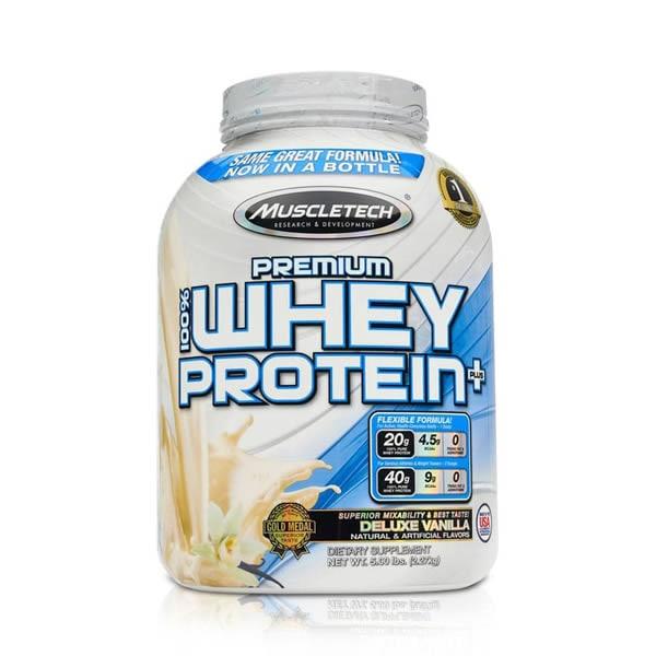 Proteina Muscletech Premium Whey 57 Servicios - Vainilla