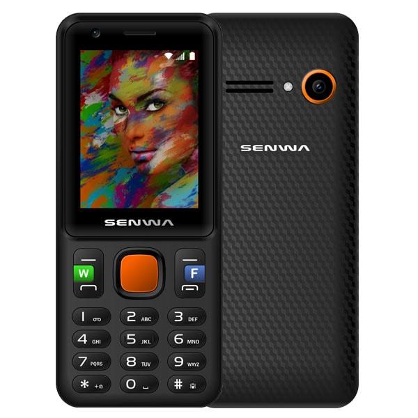 Celular SENWA 3-G S340 DYNAMIC Color NEGRO/NARANJA Telcel