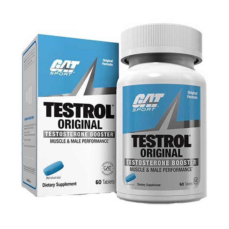 Vitaminas Testrol GAT Original 60 Tabletas