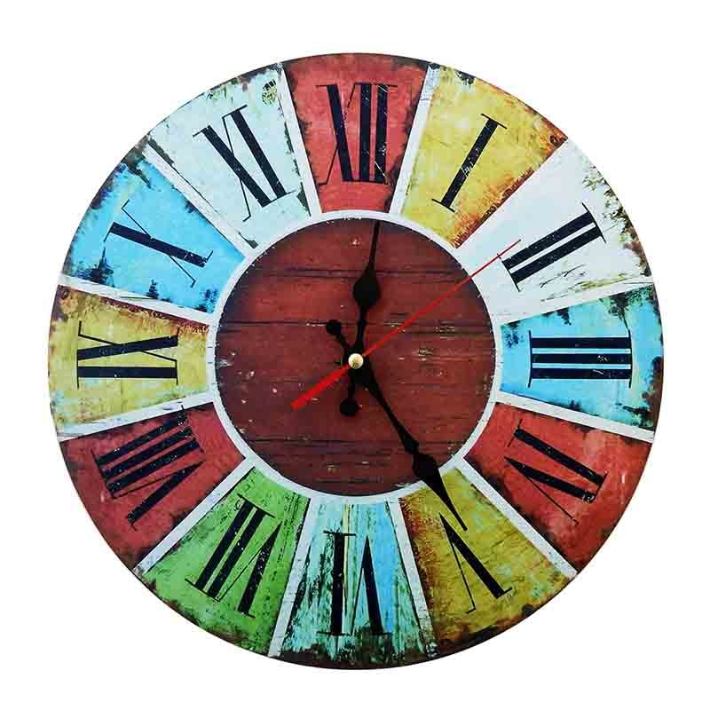 Reloj de Pared Vintage 30 cm Ruleta