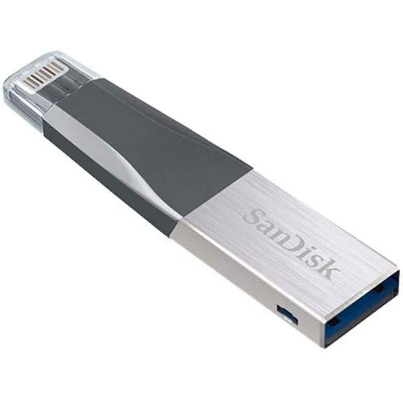 Memoria Usb 64gb Sandisk Dual Lightning iPhone iPad Pc SDIX40N-064G-GN6NN USB 3.0