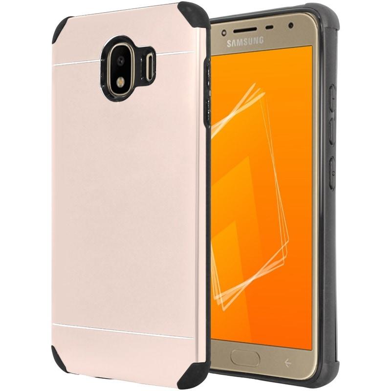 Funda + Cristal Case Aluminio Galaxy J4 2018 Sm-j400m