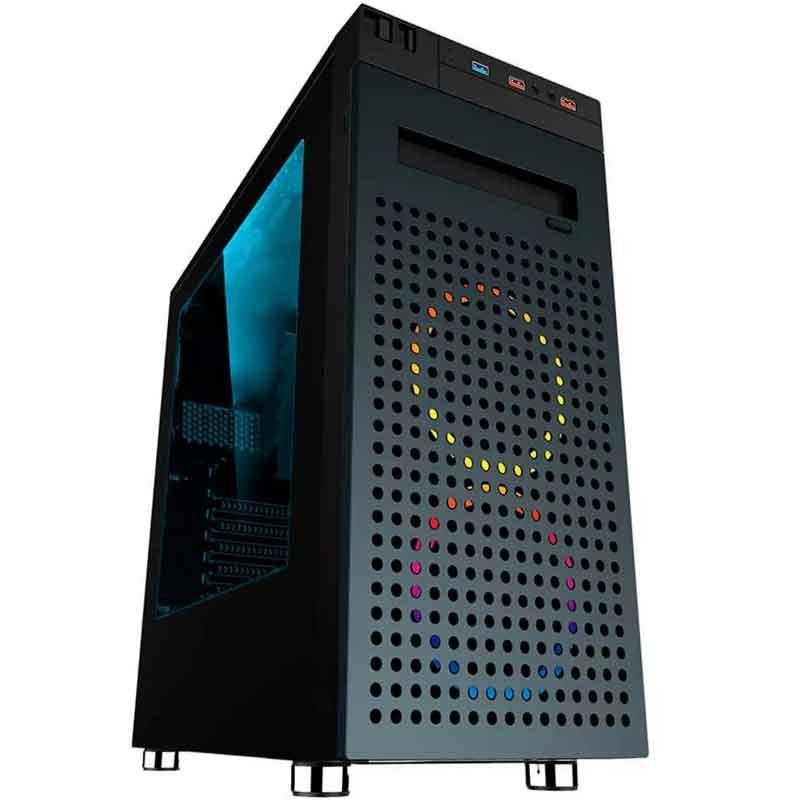 Gabinete Gamer EAGLE WARRIOR CHANGES ATX Negro CGW1CHANGES01EGW